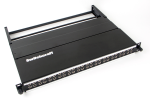 "Switchcraft 48 Point 1/4"" Long Frame Front Access Audio Patchbays with PPT Punchdown I/O"