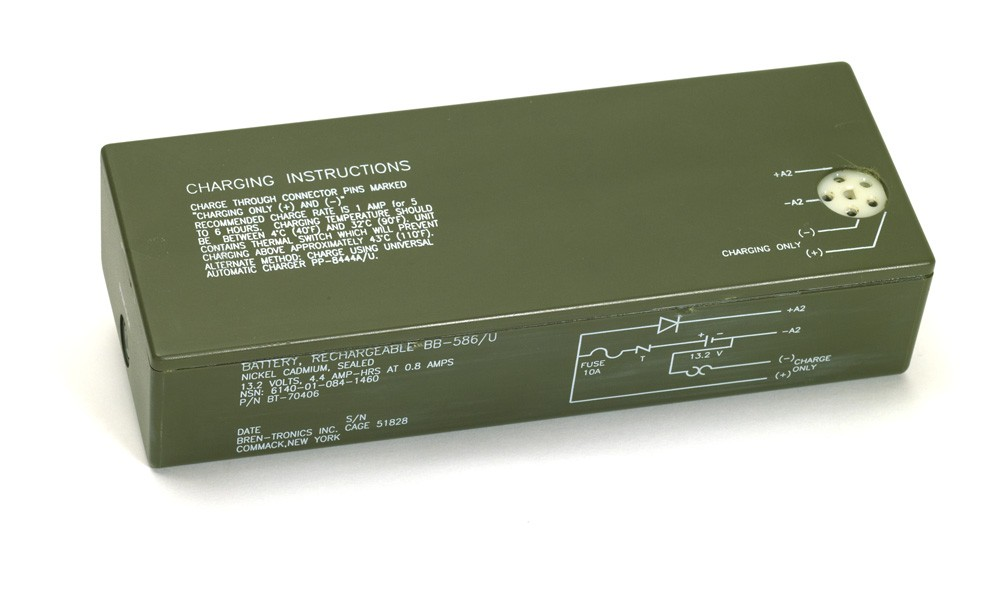 Battery: BT-70406 (BB-586/U)
