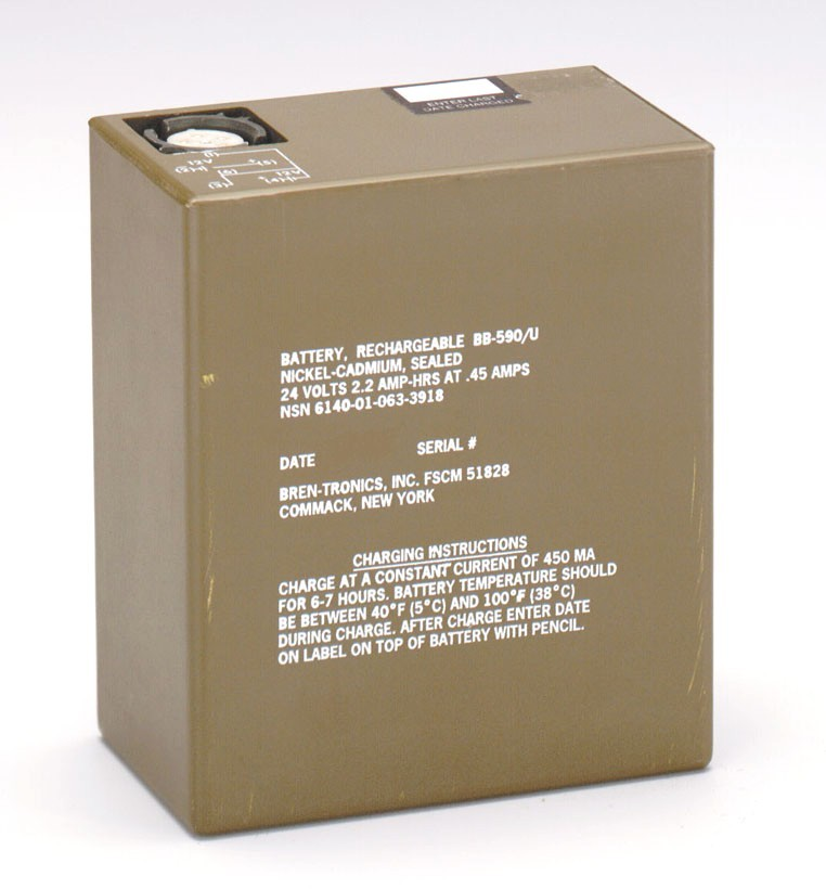Battery: BT-70409 (BB-590/U)