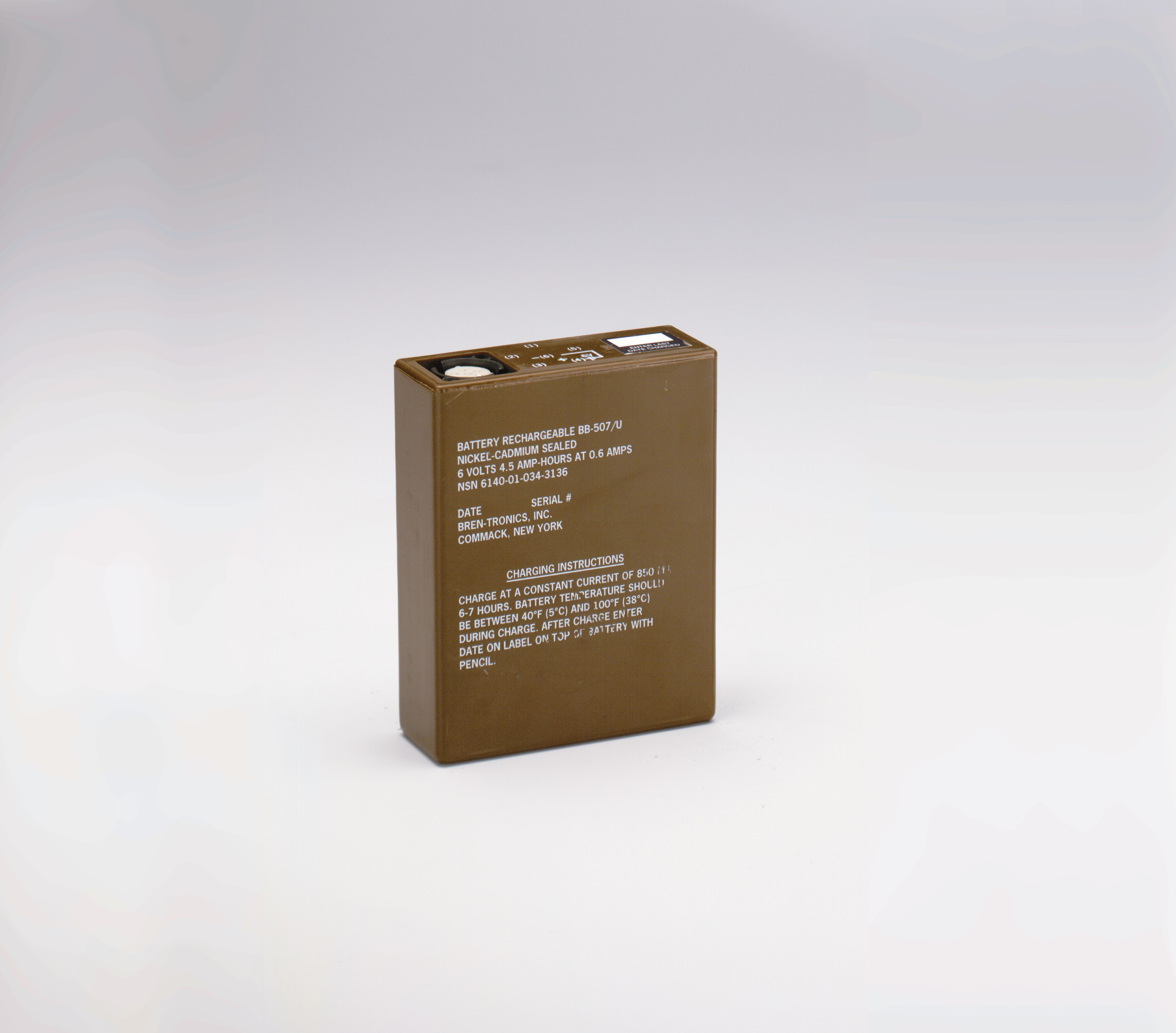 Battery: BT-70660 (BB-507/U)