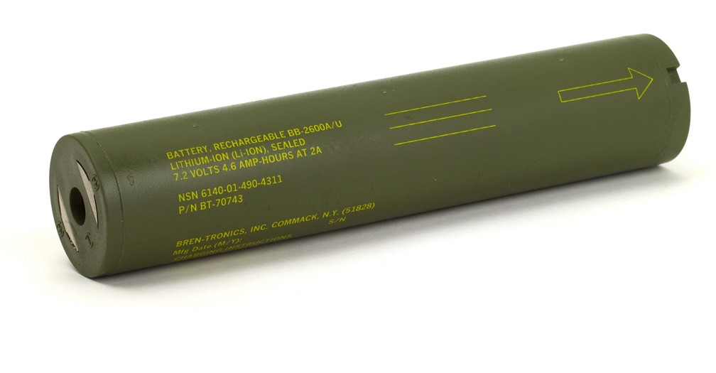 Battery: BT-70743 (BB-2600A/U)