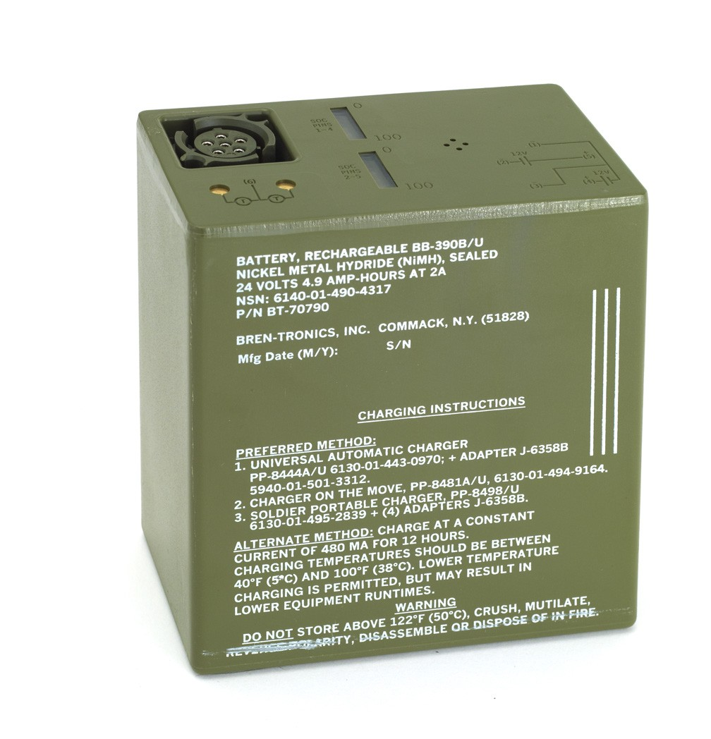 Battery: BT-70790 (BB-390B/U)