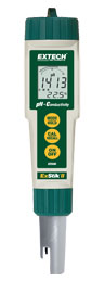 Extech EC500: Waterproof ExStik II pH/Conductivity Meter