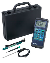 Extech 407228: Heavy Duty pH/mV/Temperature Meter Kit