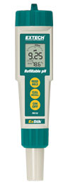 Extech PH110: ExStik Refillable pH Meter