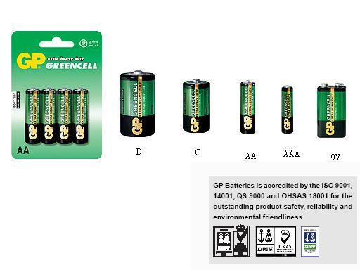 GP Batteries Greencell