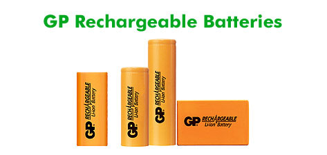 GP Batteries Lithium Ion