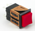 Switchcraft Square Pushbutton Switches, BXR Series