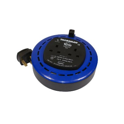 YEG Cabcon 10m 10A Closed Cable Extension Reel 240v