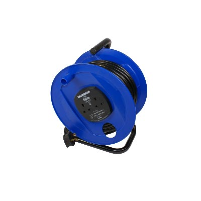 YEG Cabcon 40m 13A Open Cable Extension Reel 240v