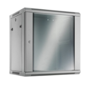 YEG Cabcon Wall Cabinet 19in 12u 600mm Depth with Removable Sides