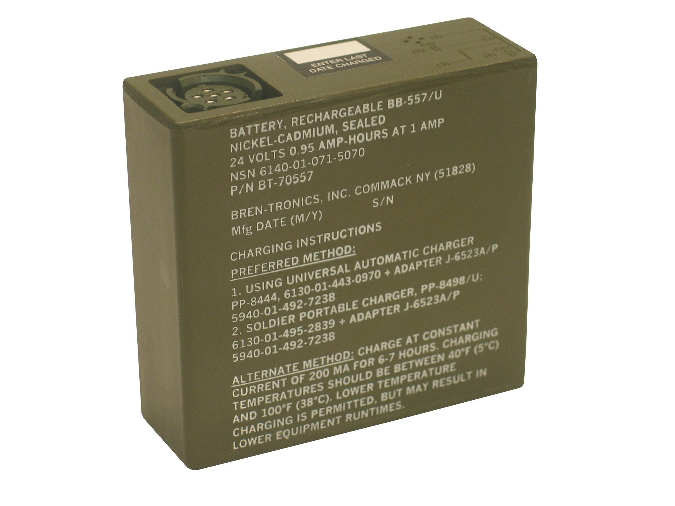 Battery: BT-70557 (BB-557/U)