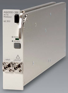 AQ2200-331 Optical Attenuator module (with a built-in OPM)