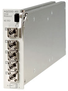 AQ2200-411 Optical Switch Module (1 x 4/1 x 8)