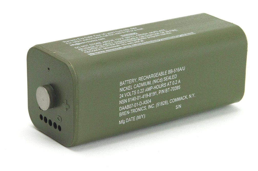 Battery: BT-70395 (BB-516A/U)