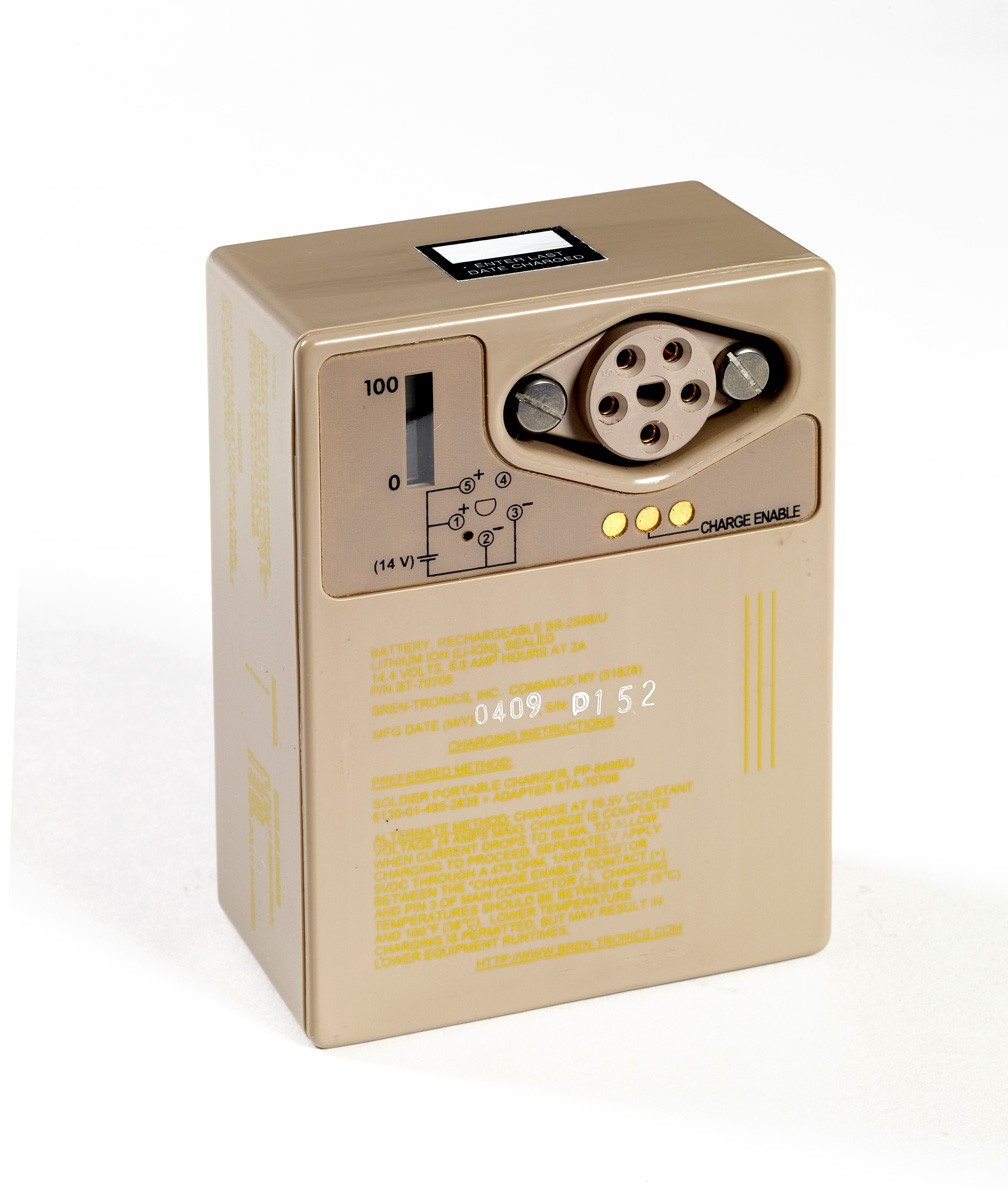 Battery: BT-70706 (BB-2598/U)