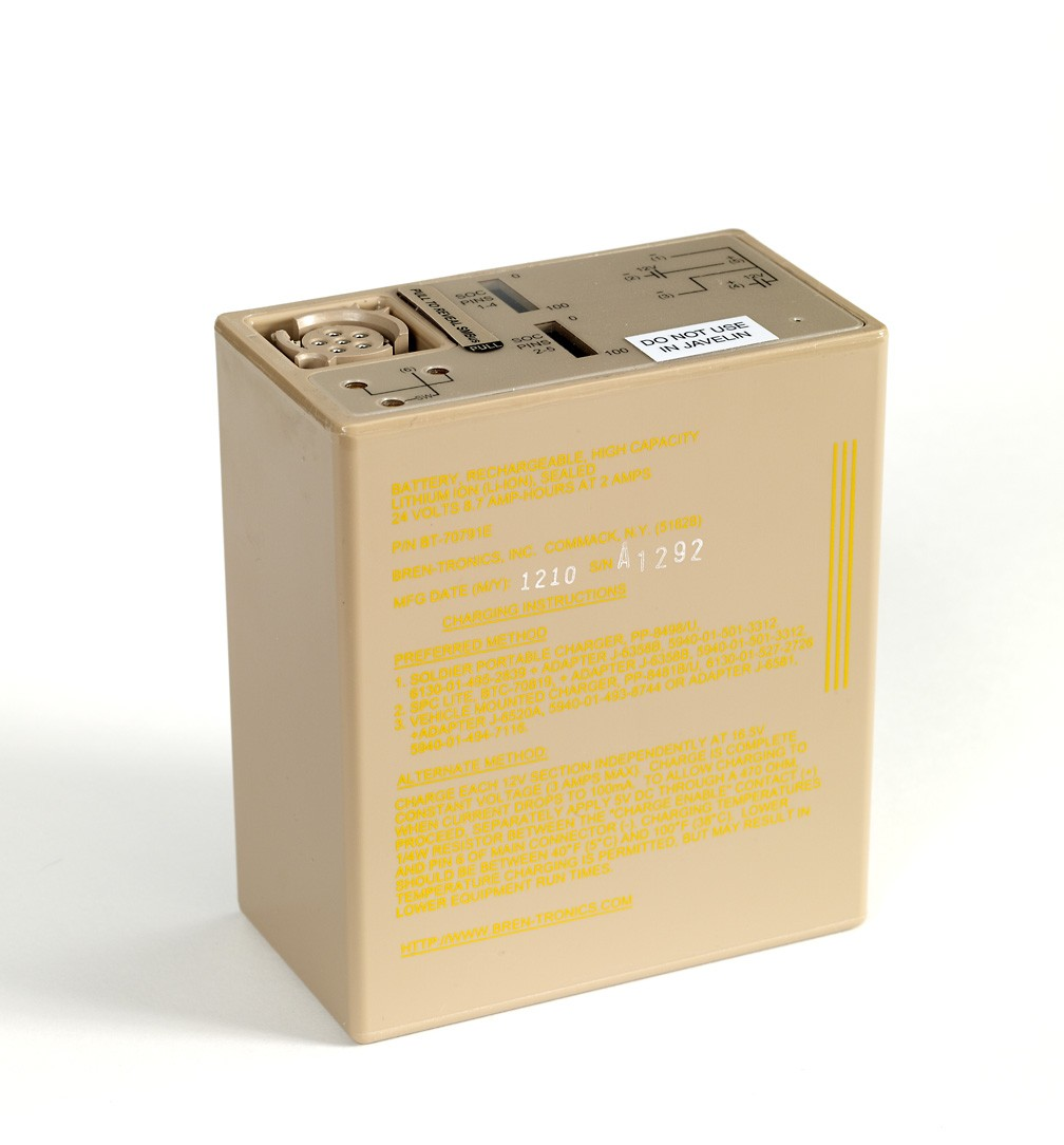 Battery: BT-70791E (BB-2590/U)