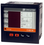 Circutor CVM96F-ITF-485C2-HAR-IN;Power analyser