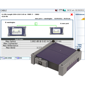 VIAVI FiberComplete Integrated Loss, ORL and OTDR Modules – 4100-Series for MTS-2000, -4000 Platforms
