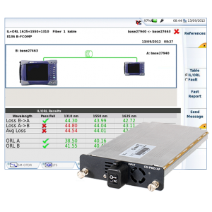 Viavi FiberComplete Integrated Loss, ORL and OTDR Modules – 8100-Series for T-BERD/6000A, -8000 Platforms