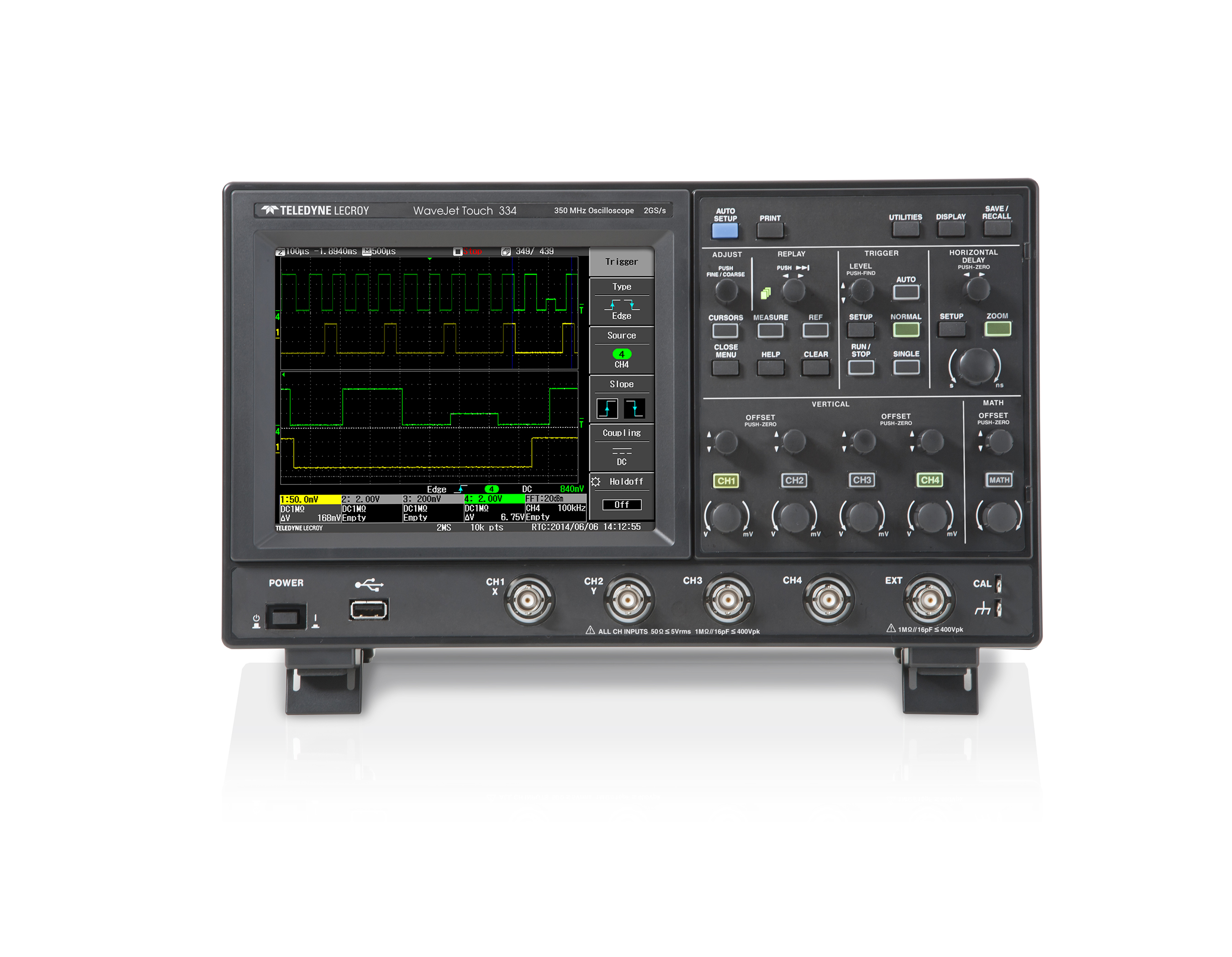 Teledyne LeCroy WaveJet Touch Oscilloscopes