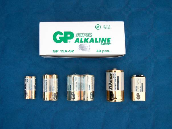 GP Batteries Super Alkaline